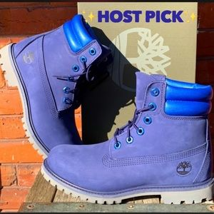 """TIMBERLAND 6"""" NEW Waterville Waterproof Blue Boots"""